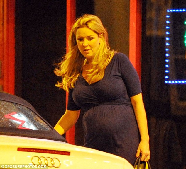 Maternal: Sweeney is six months pregnant with her former fiancé Daniel Riley's baby