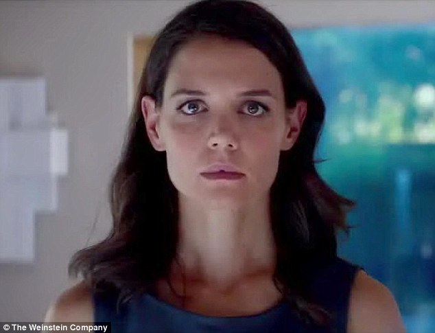Not who she seems: Fiona is later confronted by Jonas' mother (Katie Holmes) and desperately tells her 'There's something missing from our lives, something stolen'
