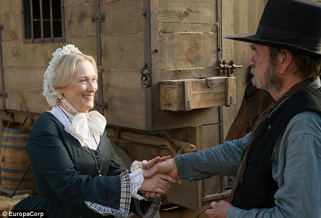 Due out October 3! The Death Becomes Her diva will then appear in Tommy Lee Jones' western-drama The Homesman alongside her daughter Grace Gummer, Hilary Swank, and John Lithgow