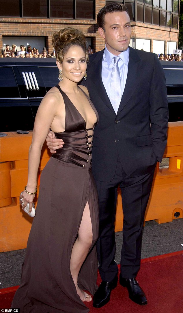 They almost married: The On The 6 singer with Ben Affleck at the premiere of Gigli in 2003; he has said they're still friends