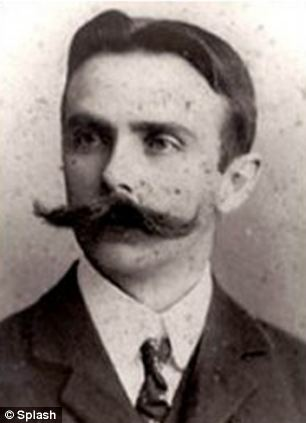 A rare picture of Charles Miller, the British gentleman who arrived in Brazil in 1894 with a football under each arm and introduced the country to the sport