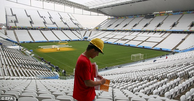 Sao Paulo stadium: The World Cup will be one of the most watched events on television