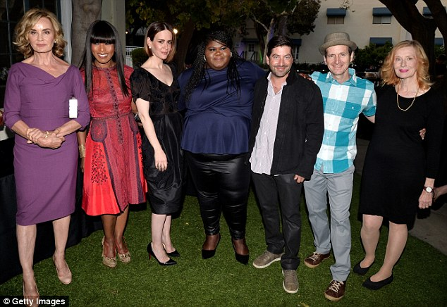Top team: The cast and crew of American Horror Story have won numerous awards for their work on the show