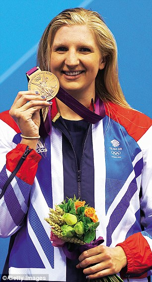 Abuse: Four-time Olympic medallist Rebecca Adlington said she has finally learned to ignore her Twitter trolls