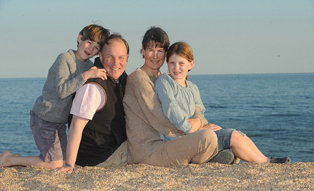 Cash boost:  The MacEwan family had £50 more to spend on a recent holiday