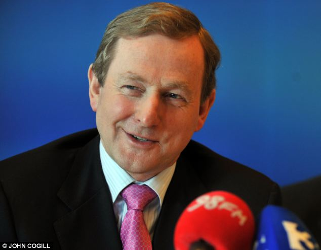 Review: The Taoiseach (pictured) said the disclosures that almost 800 children died over a 36-year period at St Mary's Home in Tuam were 'another element of our country's past' that needed to be dealt with