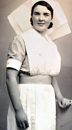 Michelle Fleming's granny, Nora Burke, who was a midwife at the Tuam Mother and Child Home