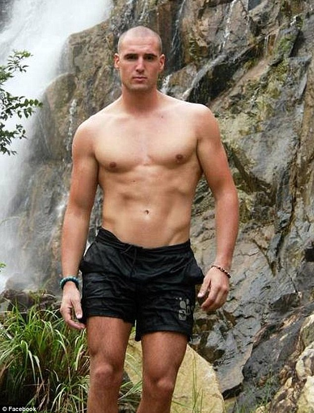 Tragedy: French model Fabien Ardoin (pictured) fell to his death on Sunday during a bushwalk at the Royal National Park.