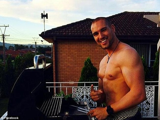 Gone too soon: Ardoin was an international model, according to his Facebook page, and was enjoying living in Sydney with his girlfriend