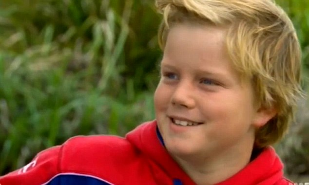 Despite the intensity of the situation, Rory Williams remained incredibly upbeat during the interview. At times, the 11-year-old was joking with interviewer Ben Fordham saying the reason behind his ballooning stomach was his poor diet