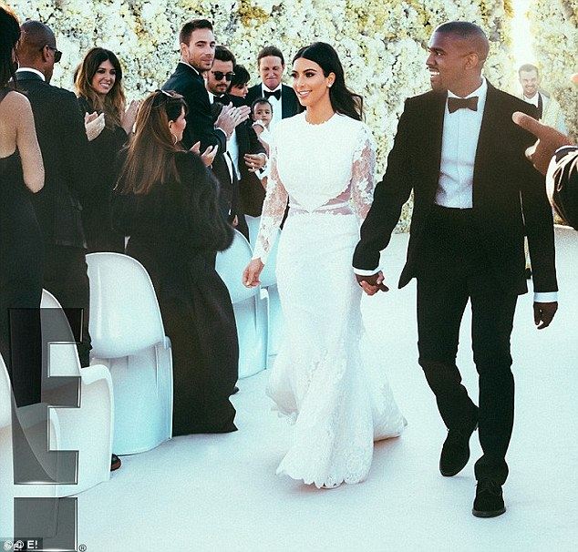 Hitched! Kim, who now goes by the surname Kardashian West, and Kanye got married in a lavish ceremony in Italy