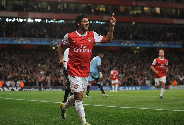 Clause: Vela signed for Sociedad last summer but Arsenal can buy him back for £3.5million