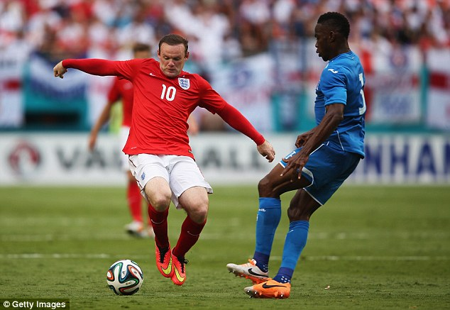 Big tournament: Rooney says he is fit going into this World Cup