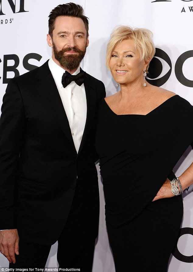 Happiest couple in Hollywood: Hugh and Deborra, who have been married since 1996, have one of the most enduring marriages in Hollywood