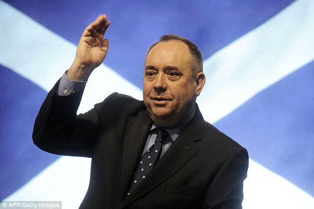 First Minister Alex Salmond has been accused of 'breathtaking arrogance' after setting up a unit to prepare for independence, 100 days before the referendum