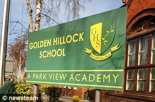Golden Hillock School was branded 'inadequate' in the new inspections