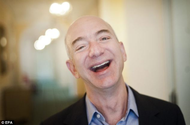The payments system is the latest in a  the latest in a series of moves that Amazon founder Jeff Bezos (pictured)  has made into PayPal's territory