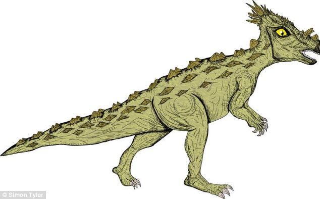 The final group shown on the infographic is pachycephalosauria represented by a dinosaur called Dracorex. The dinosaur was bipedal with a heavily armoured body and spiky horns. The only known species is Dracorex hogwartsia (pictured), named by children because it resembles fictional dragons in Harry Potter