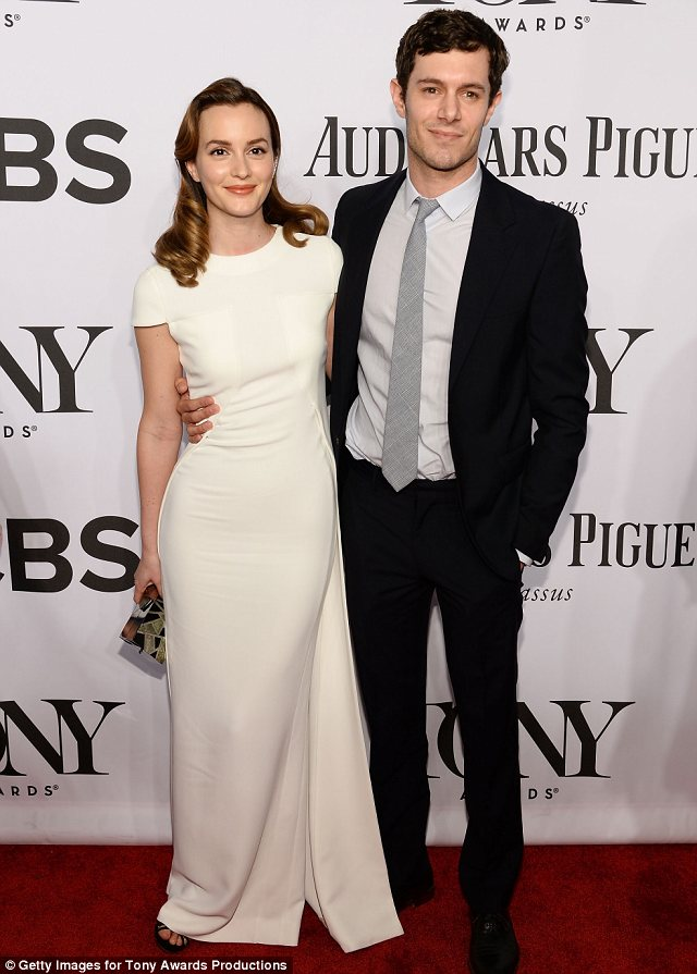 Seth and Blair forever: While Leighton shot to fame as Blair Waldorf on Gossip Girl, Adam is most famous for his role of Seth Cohen on The OC