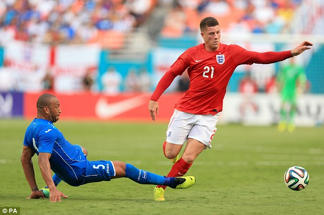Hype: Roy Hodgson is keen to protect Ross Barkley from any added pressure