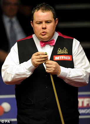 Stephen Lee in action