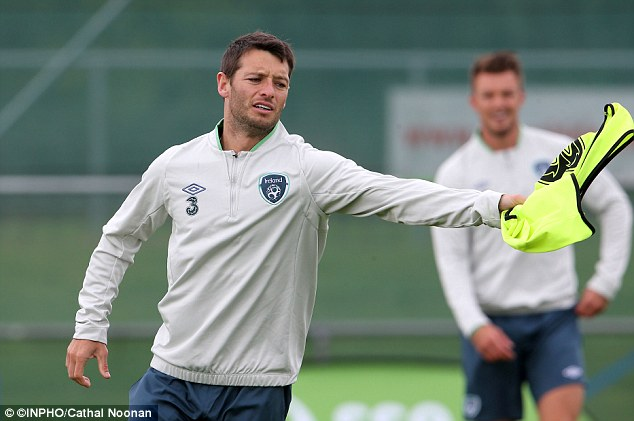 Technical ability: Wes Hoolahan could be recalled from the bench and his passing style could trouble Portugal