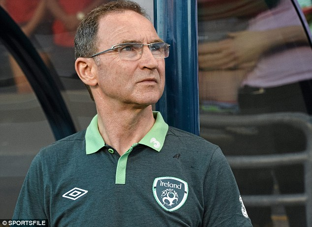 Opposition: Republic of Ireland manager Martin O'Neill hopes Portugal provide a challenge