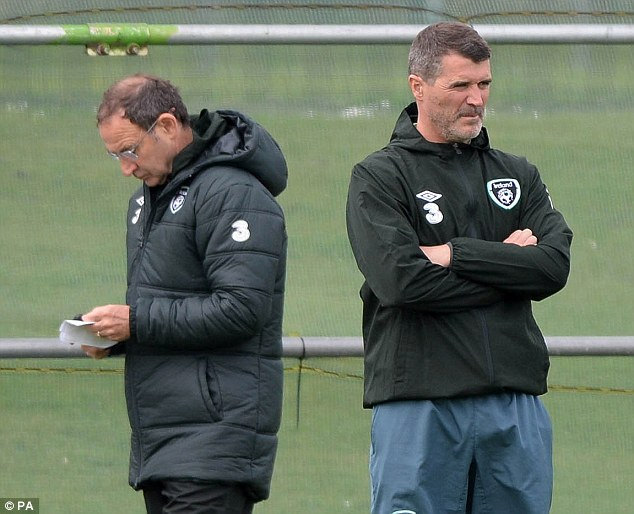 Ready to blow: O'Neill admitted that it's possible Keane's temper will boil over under this constant pressure