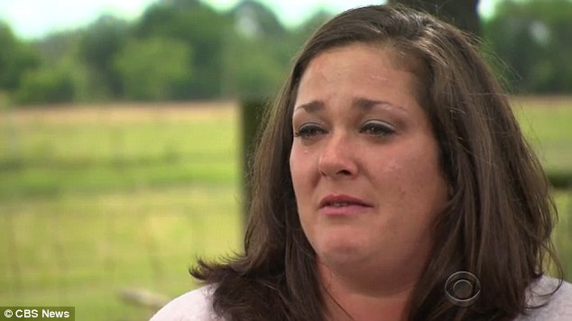 Devastated: Candice Anderson says blamed herself for the crash
