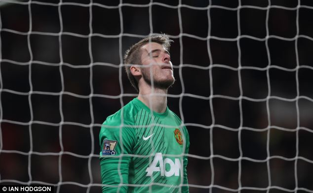 Manchester United goalkeeper David de Gea was unwittingly caught up in a row between Diego Maradona and his ex-girlfriend