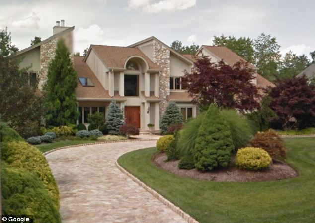 Mansion: Tepper and his wife Marlene share this large home in Livingston, New Jersey
