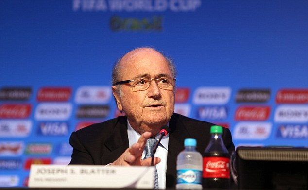 Should he stay or should he go? Blatter has indicated he plans to run for another term as FIFA president