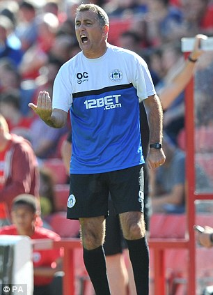 Contender: Owen Coyle has been linked to the vacant role