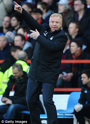 In the frame: Alex McLeish is another name linked to the job