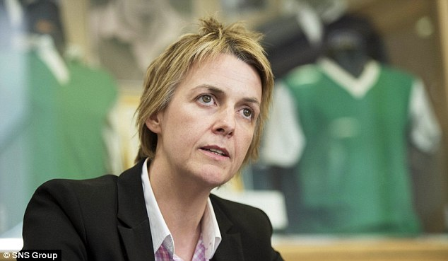 Responsible: Hibs' new CEO Leeann Dempster says she played a key role in Butcher's departure