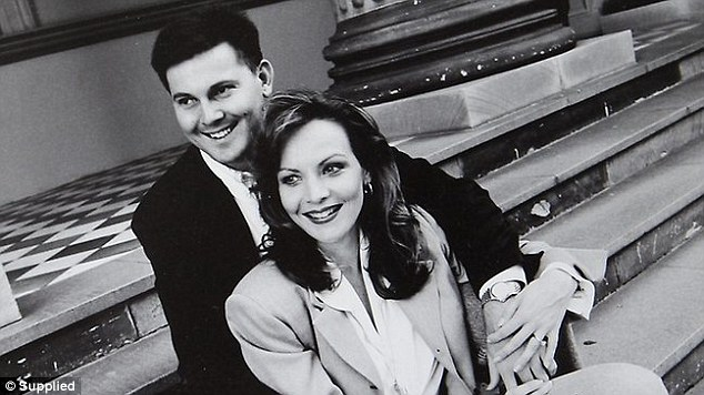 Allison and Gerard Baden-Clay pictured in an undated photograph, were working together at his real estate agency before she died