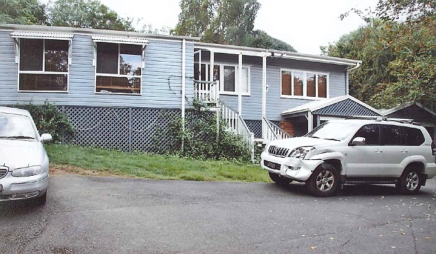 Then: The Baden-Clay's house as it was in 2012 when she went missing