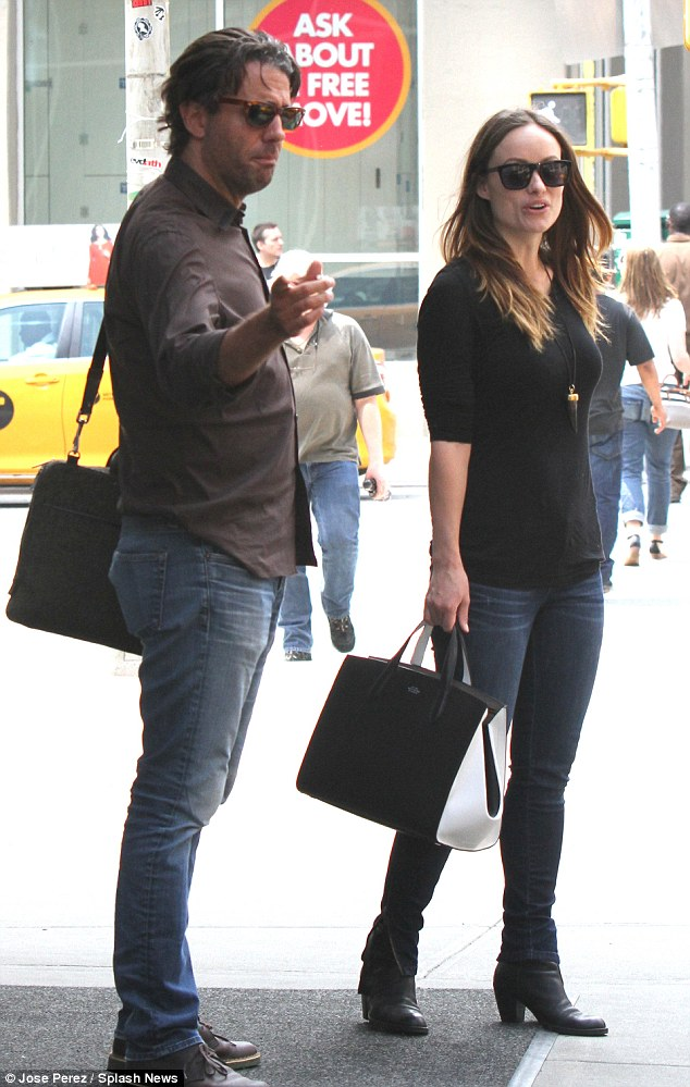 Back in business! Last week, Olivia was spotted on the set of her upcoming HBO drama alongside a companion in Manhattan