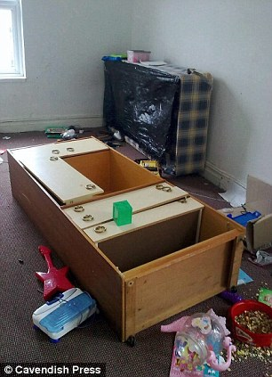 The clean-up faced by Sean Feeney when the tenants left