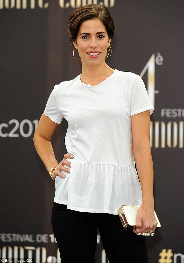 Brunette beauty: Devious Maids star Ana Ortiz was also in attendance at the event
