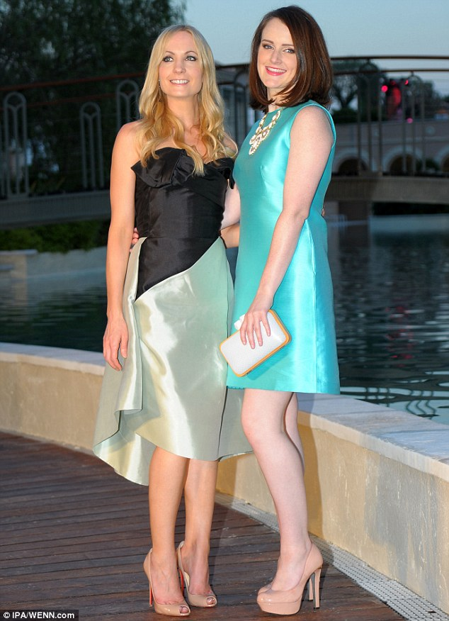 Co-stars: Several other stars also attended the event including Downton Abbey's Sophie McShera and Joanne Froggatt