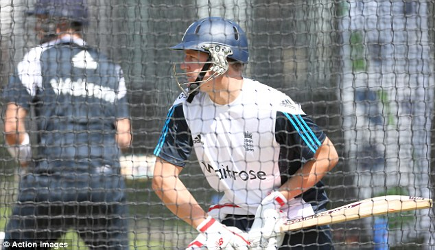 Focused: Gary Ballance will bat at three when England take on Sri Lanka at Lord's on Thursday morning