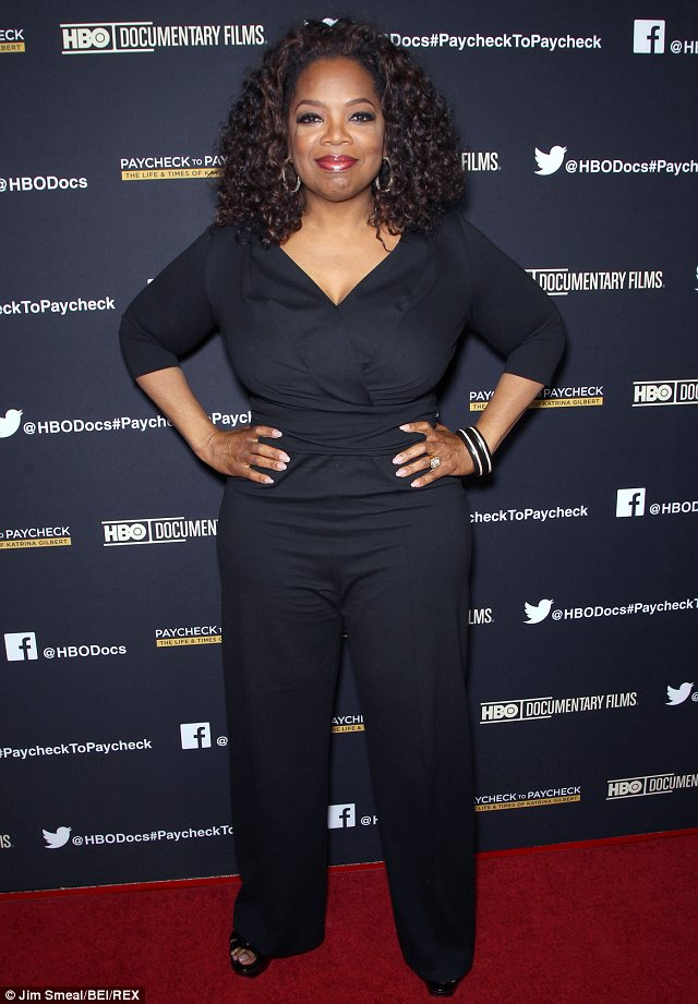 She's back! Selma producer Oprah Winfrey will also star in the civil rights movie