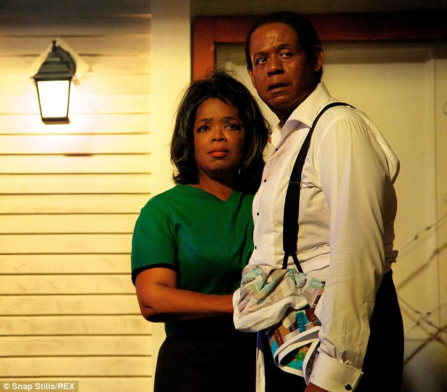 Rave reviews: Oprah won plaudits for her role in The Butler last year which also dealt with MLK's civil rights movement