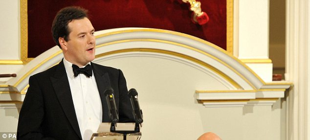 New powers: The Chancellor will address City luminaries tonight at Mansion House.