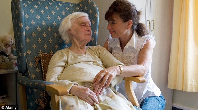 Care help: Friends Life says people shouldn't be taxed if their pensions are being used to pay for care home fees.
