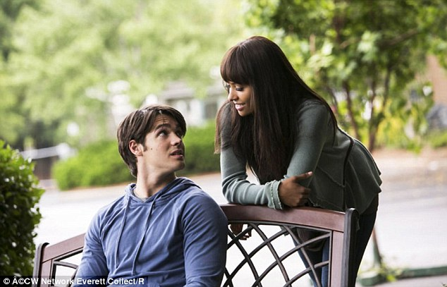 The Vampire Diaries: The actress appeared in a scene with co-star Steven R. McQueen in August 2013
