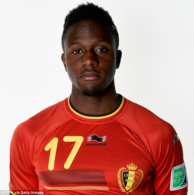 Goalscorer: Divock Origi had a fine season in France, and will now be looking to shine for Belgium in Brazil