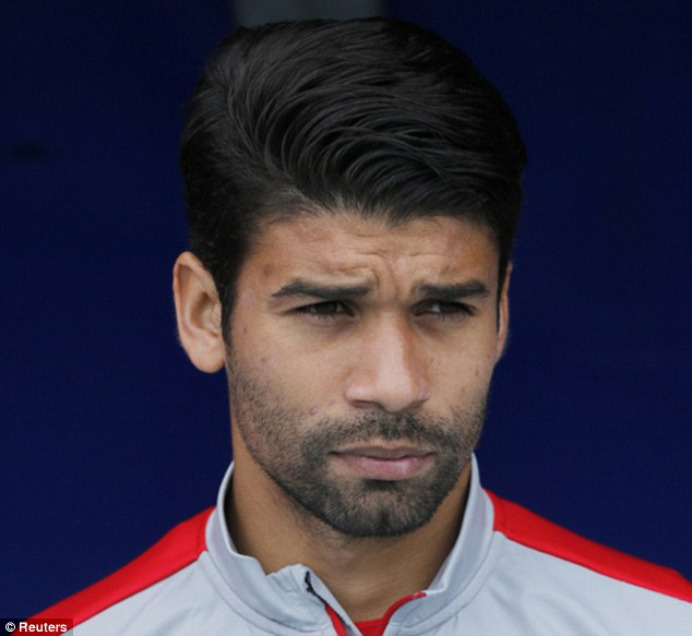 Pride and passion: Former Arsenal striker Eduardo would love to score against the country of his birth