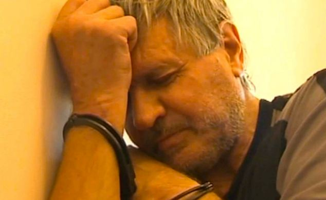 Valery Makarenkov, 67, who is thought to be behind at least 108 rapes in Moscow over 27 years, has told police he 'gave myself these girls as a birthday gift'